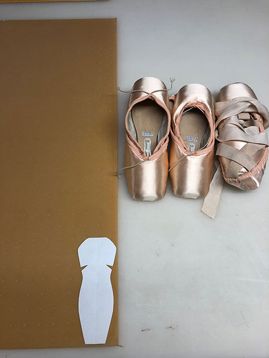 Pointe Shoes getting Protective toe tips